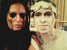 Medusa and stone man...crazy awesome