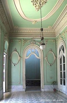 Colonial opulence inside Cienfuegos Palacio Ferrer