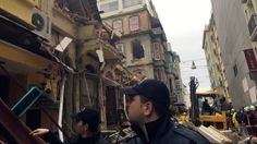 02/12/2016 - A five-storey building collapsed in the Turkish city of Istanbul on Friday but it appears no one was trapped inside, according to local officials.  (No one was trapped inside because the locals heard the sound and felt the shaking and instructed all to leave!  This was not reported as an earthquake/sinkhole?, and USGS shows none....but it sure has the look & feel of one.)