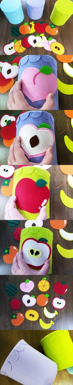 클래스 5500번 영아교구 6종 (과일/분유통) - 즐거운 온라인 쇼핑공간에 오신 것을 환영합니다! Foam Crafts, Diy And Crafts, Busy Book, Grandkids, Activities For Kids, Sunglasses Case, Textiles, Classroom, Kids Rugs
