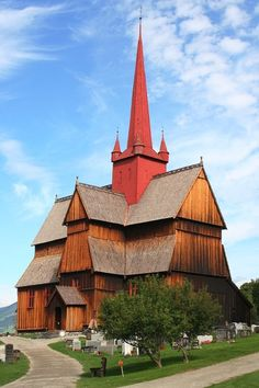 (via Ringebu stavkirke, a photo from Oppland, South | TrekEarth)    Ringebu, Norway