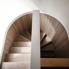 Miraculous The beautiful staircase decor of the house becomes comfortable , hom. Miraculous The be Timber Staircase, Staircase Handrail, Interior Staircase, Spiral Staircase, Stair Railing, Staircase Design, Railings, Detail Architecture, Interior Architecture