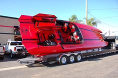 Boogabooster's Boating Blog: 2,700 Horsepower Go-Fast Boat at SEMA Show