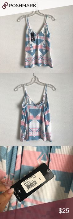 NWT WildFox Swim Aztec Cami Super comfortable and soft fabric, new with tags never worn Wildfox Tops Tank Tops