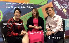 "Cheryl chats with Sammy and Miles on ""What's my worth? Do What You Want, Trust Yourself, Cheryl, Help Me, Clarity, Identity, Best Friends, Friday, Journey"