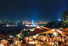 Destination Turkey - dinner in Istanbul with a stunning view of the Bosphorus