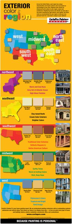 EXTERIOR COLOR TRENDS BY REGION!