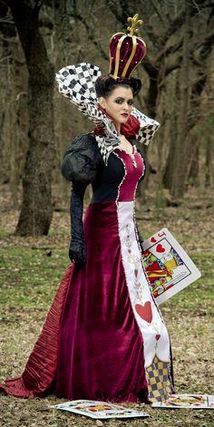 Queen of Hearts DIY Costume.