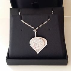 Ortak-Leah-Collection-Silver-Enamel-Heart-Pendant-18-034-Silver-Chain-RRP-100