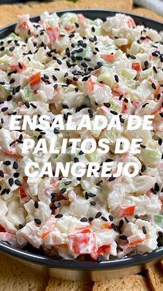 Healthy Cooking, Healthy Eating, Cooking Recipes, Healthy Recipes, Crab Recipes, Mexican Food Recipes, Ethnic Recipes, Imitation Crab Salad, Summer Recipes