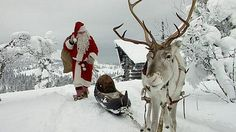 Joulupukki lähti matkaan Korvatunturilta 27.11.2015 / Santa Claus' departure from Lapland, Korvatunturi in Finland 27.11.2015