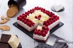Ricetta Cheesecake cioccolato bianco e lamponi - Le Ricette di GialloZafferano.it