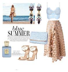 """Blue summer"" by djulianne on Polyvore featuring мода, Marni, Erickson Beamon, Gianvito Rossi, H&M и Bella Bellissima"