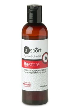 Restore Herbal Anti-inflammatory Oil, Pain Relief Treatment For Discomfort Associated With Tennis Elbow, Carpal Tunnel Syndrome, Arthritis, Bursitis, Tendonitis, Sciatica, Fibromyalgia, Shin Splints, Etc. Post Workout Soreness and Recovery* by TriDosha Wellness Products, http://www.amazon.com/dp/B007YMTAGC/ref=cm_sw_r_pi_dp_fTHyqb1F4DYP0