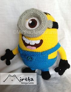 Amigurumi Minion by Mirtha