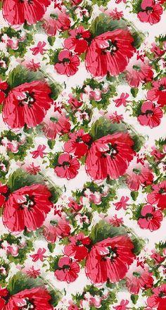 flowers, red, via inspiredbytamar via kissedbyarosevintage