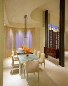 Enclave dining room interior design with cream - Interior Design | Exterior Design | Office Design | Home Design