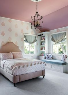 Best Small Bedroom Design Ideas & Decoration for 2018 - Great Home Decorations Contemporary Bedroom, Modern Bedroom, Bedroom Decor, Bedroom Ideas, Bedroom Lighting, Cosy Bedroom, Trendy Bedroom, White Bedroom, Rustic Kids Rooms