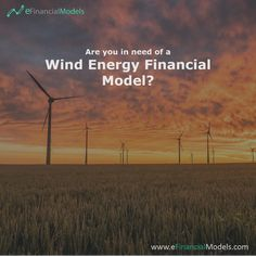 eFinancialModels offers a wide range of industry specific excel financial models, projections and forecasting model templates from expert financial modeling freelancers. Financial Modeling, Financial Planning, Renewable Energy, Eco Friendly, Solar, Base, Templates, Windmill, Business