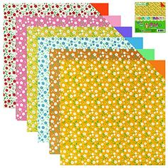 100 Sheets Double Sided Origami Paper Flower/Traditional/Quilt Pattern (Flower Pattern 1) -- Check this awesome product by going to the link at the image.