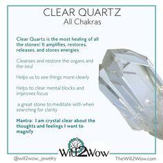 5 Must-Have Crystals - Custom Healing Crystal Bracelets Chakra Crystals, Crystals And Gemstones, Stones And Crystals, Gem Stones, Crystal Healing Stones, Clear Quartz Crystal, Amethyst Crystal, Rose Quartz, Quarts Crystal