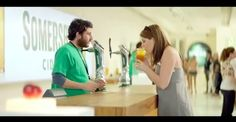 You've just downloaded - Somersby Cider Ad Spoofs Apple's Product Launches
