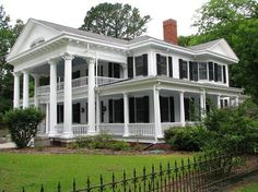 Tranquility  1911 Early Classical Revival  Clio, South Carolina