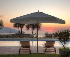 Can imagine sat here watching this sunset in Massa Lubrense (Italy) - Campaya