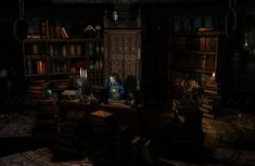 Magic isn't only old books and grimoires. Full view is highly recommended.
