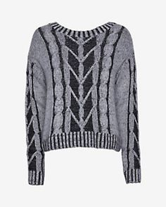 917ee3eaa81a93 New Designer Clothing for Women. Christopher Fischer Zipper Back Plaited Cable  Knit