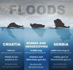 #BosniaFloods #SerbiaFloods#Croatia Floods