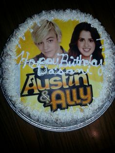 Austin and Ally birthday cake Happy birthday Cakes by Kiesha