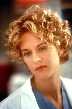 When I was writing up Abilene's character, I imagined she looked a lot like Meg Ryan in CITY OF ANGELS.  Her short, blond ringlets are inspired by the actress's amazing look.