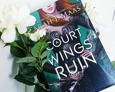 """b00kishfantasy: """"Just got my insanely beautiful hardcover of ACOWAR in the mail  """""""