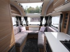 Don't miss our verdict on the end-washroom two-berth Adria Adora Loire, a caravan with Continental style and a well equipped English kitchen Caravane Adria, Caravan Makeover, English Kitchens, Car Seats, Caravan Ideas, Lounge, Camping, Retro, Space