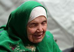 Refugiada de 105 anos viajou a pé por 20 dias para chegar à Europa
