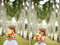 sweet flower girls
