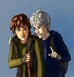 Jack and Hiccup