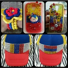 !! Lunch Box, Colombian Flag, Accessories, Bento Box