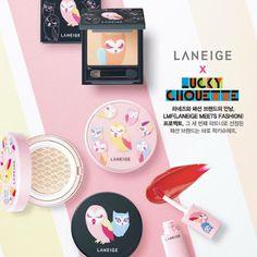 The Rebel Sweetheart.: Sneak Peek   Laneige x Lucky Chouette Collection.