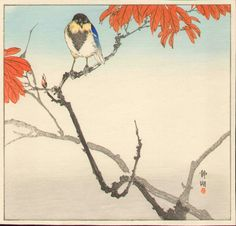 Seiko Okuhara Japanese Woodblock Print - 1910s...very pretty colors
