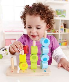 Count to Four Stacker Toy