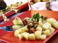 Batatas Risolet ao Alho e Bacon - Veja mais em: http://www.cybercook.com.br/receita-de-batatas-risolet-ao-alho-e-bacon.html?codigo=12018