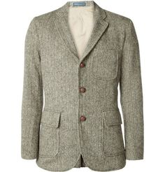 Just need a teaching gig to go with this herringbone blazer