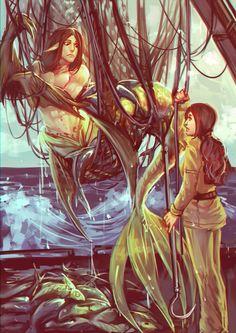 Naraid Strange waters by moni158.deviantart.com on @deviantART