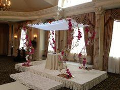 Custom Built Chuppah for Flowerful Events