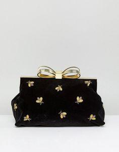 Ted Baker Bee Embellished Clutch Bag