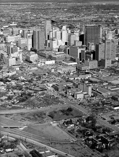 Once in a while I like to give presentations using our archive photos. This time it was landmarks and places in Houston's past. Houston Skyline, Grey Pictures, Texas, H Town, Galveston, City Buildings, Old Photos, City Photo, History