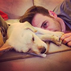 colin donnell and dog milo Colin Donnell, O Donnell, Chicago Med, Chicago Fire, Tommy Merlyn, Jesus Christ Superstar, Chicago Shows, John Denver, Jersey Boys
