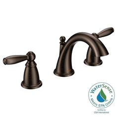 MOEN Brantford 8 in. Widespread 2-Handle High-Arc Bathroom Faucet Trim Kit in Brushed Nickel (Valve Sold Separately)-T6620BN - The Home Depot